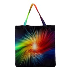 Lamp Light Galaxy Space Color Grocery Tote Bag