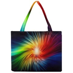 Lamp Light Galaxy Space Color Mini Tote Bag