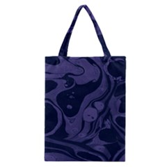 Marble Blue Marbles Classic Tote Bag