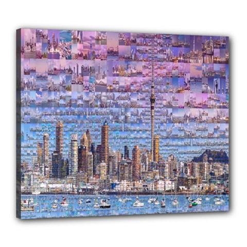 Auckland Travel Canvas 24  x 20