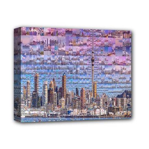Auckland Travel Deluxe Canvas 14  x 11