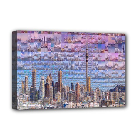 Auckland Travel Deluxe Canvas 18  x 12