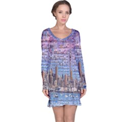 Auckland Travel Long Sleeve Nightdress