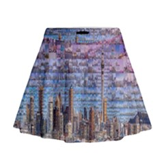 Auckland Travel Mini Flare Skirt