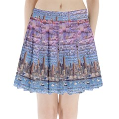 Auckland Travel Pleated Mini Skirt