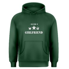 Green air force girlfriend  Men s Pullover Hoodie
