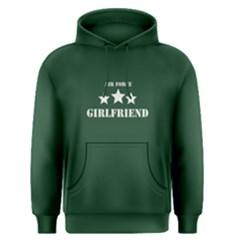 Green Air Force Girlfriend  Men s Pullover Hoodie