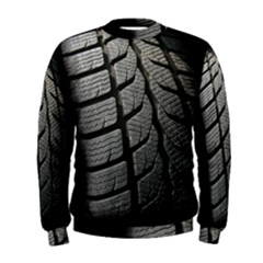 Auto Black Black And White Car Men s Sweatshirt