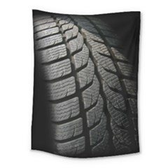 Auto Black Black And White Car Medium Tapestry