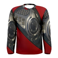 Auto Red Fast Sport Men s Long Sleeve Tee