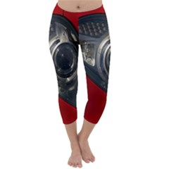 Auto Red Fast Sport Capri Winter Leggings