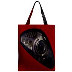 Auto Red Fast Sport Zipper Classic Tote Bag