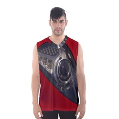 Auto Red Fast Sport Men s Basketball Tank Top