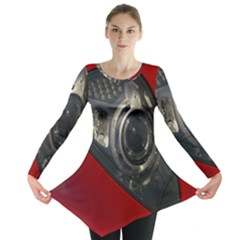 Auto Red Fast Sport Long Sleeve Tunic