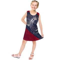 Auto Red Fast Sport Kids  Tunic Dress
