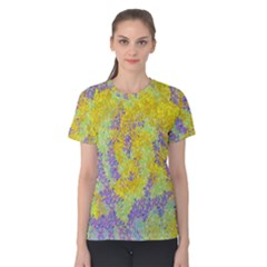Backdrop Background Abstract Women s Cotton Tee