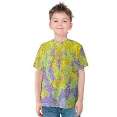 Backdrop Background Abstract Kids  Cotton Tee