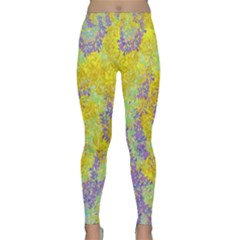 Backdrop Background Abstract Classic Yoga Leggings