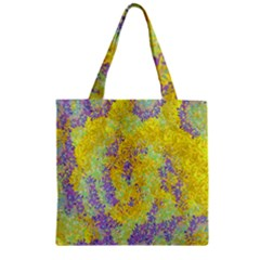 Backdrop Background Abstract Zipper Grocery Tote Bag