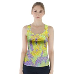 Backdrop Background Abstract Racer Back Sports Top