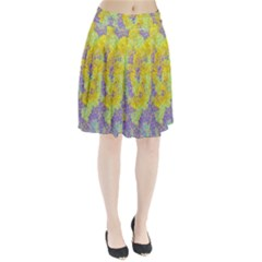 Backdrop Background Abstract Pleated Skirt