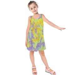 Backdrop Background Abstract Kids  Sleeveless Dress