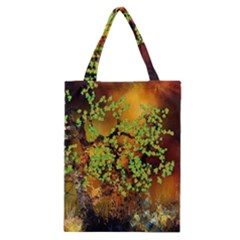 Backdrop Background Tree Abstract Classic Tote Bag
