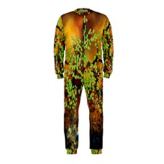 Backdrop Background Tree Abstract OnePiece Jumpsuit (Kids)