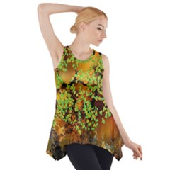 Backdrop Background Tree Abstract Side Drop Tank Tunic