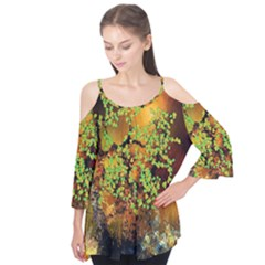 Backdrop Background Tree Abstract Flutter Tees
