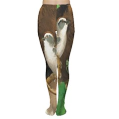 Backdrop Colorful Bird Decoration Women s Tights