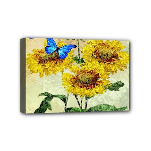 Backdrop Colorful Butterfly Mini Canvas 6  x 4