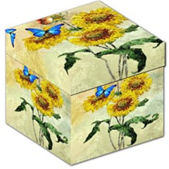 Backdrop Colorful Butterfly Storage Stool 12