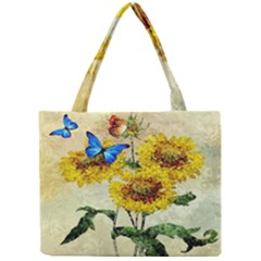 Backdrop Colorful Butterfly Mini Tote Bag