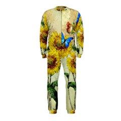 Backdrop Colorful Butterfly OnePiece Jumpsuit (Kids)