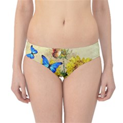 Backdrop Colorful Butterfly Hipster Bikini Bottoms