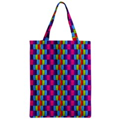 Background For Scrapbooking Or Other Patterned Wood Zipper Classic Tote Bag