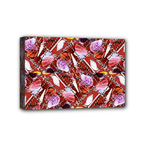 Background For Scrapbooking Or Other Shellfish Grounds Mini Canvas 6  x 4