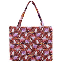 Background For Scrapbooking Or Other Shellfish Grounds Mini Tote Bag