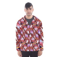 Background For Scrapbooking Or Other Shellfish Grounds Hooded Wind Breaker (Men)