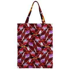Background For Scrapbooking Or Other Shellfish Grounds Zipper Classic Tote Bag
