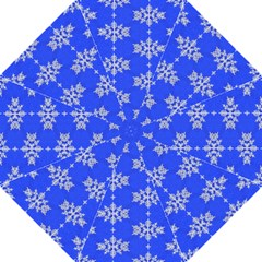 Background For Scrapbooking Or Other Snowflakes Patterns Hook Handle Umbrellas (Medium)