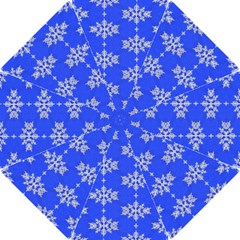 Background For Scrapbooking Or Other Snowflakes Patterns Hook Handle Umbrellas (small)