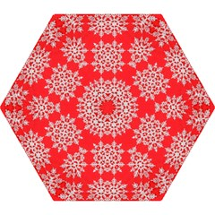 Background For Scrapbooking Or Other Stylized Snowflakes Mini Folding Umbrellas