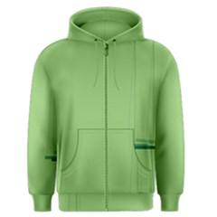 Swing Children Green Kids Men s Zipper Hoodie