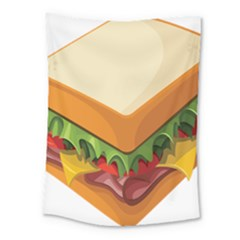 Sandwich Breat Chees Medium Tapestry