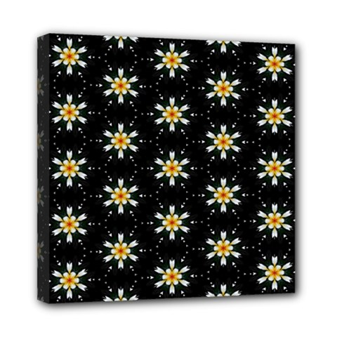 Background For Scrapbooking Or Other With Flower Patterns Mini Canvas 8  x 8