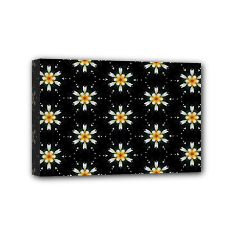 Background For Scrapbooking Or Other With Flower Patterns Mini Canvas 6  x 4