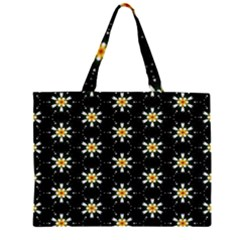 Background For Scrapbooking Or Other With Flower Patterns Large Tote Bag