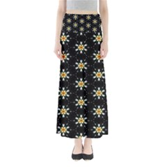 Background For Scrapbooking Or Other With Flower Patterns Maxi Skirts